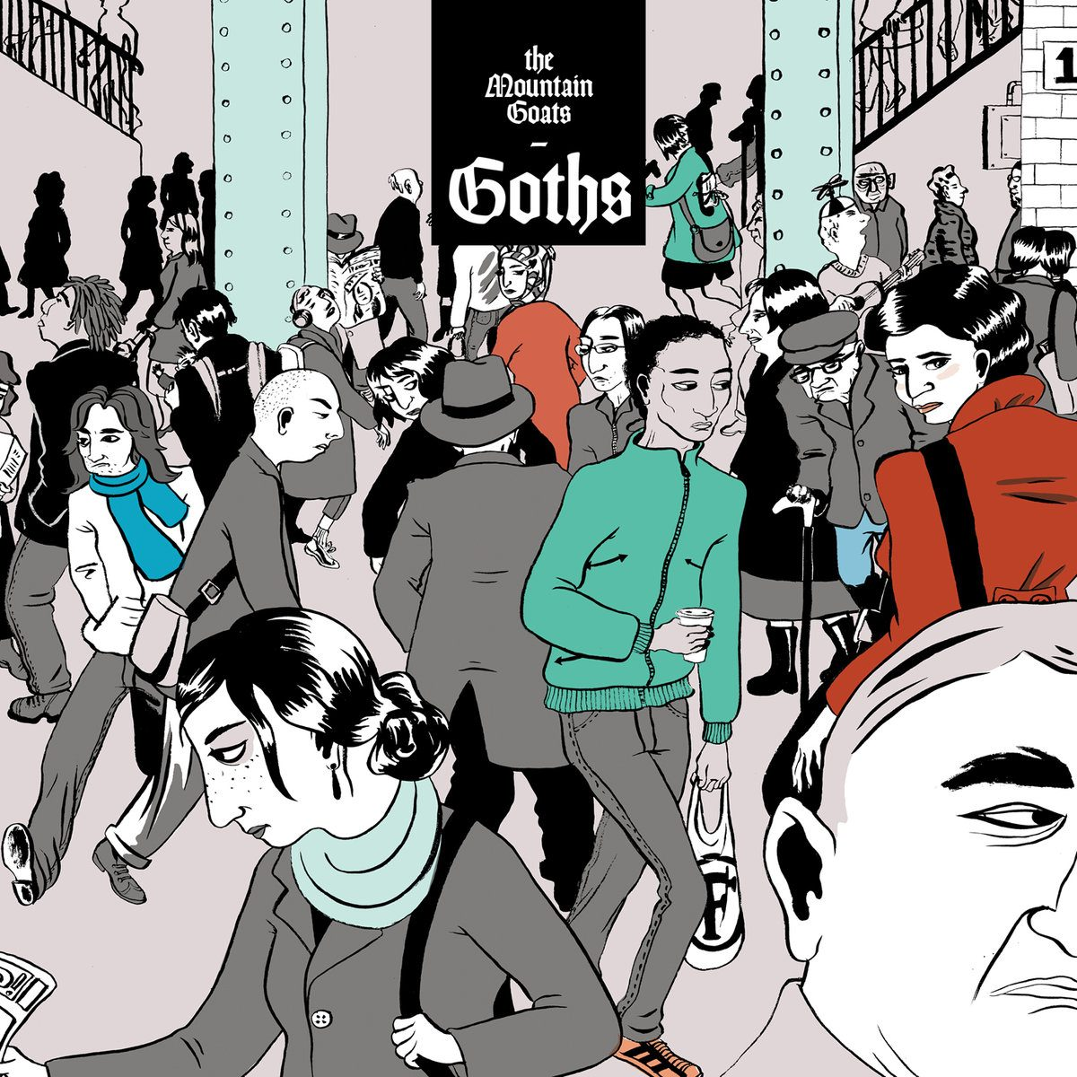 The Mountain Goats | Goths | 3hive.com